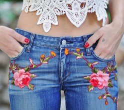 gucci-garnden-pants_-diy-embroidered-jeans_lace-crop-top-1