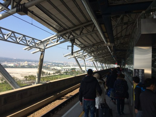 The station at Taichung
