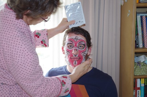 The Japanese have facial products targeting men.