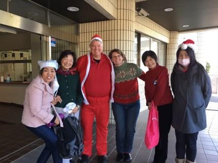 My partners in crime, Charo, Eiko, Tim, Tomoko, Mira, and Uta took the photo.