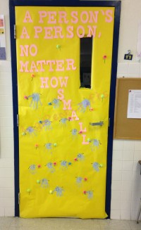 Dr. Seuss Week Classroom Door Decorations  angirenecrafts