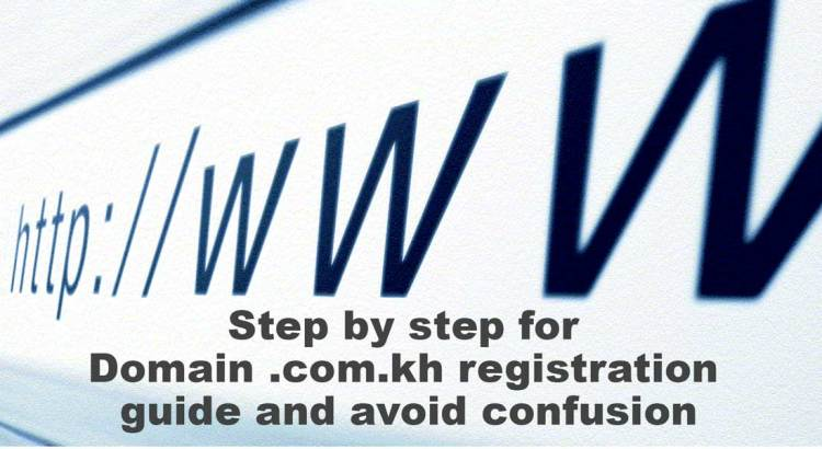 Domain .com.kh registration