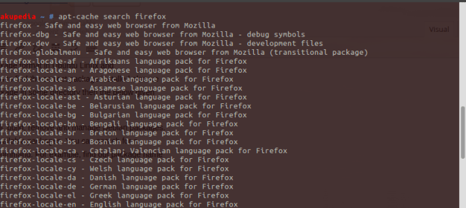 How to search for installed .deb and dpkg packages in Linux !