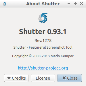 "How to enable/activate the ""Edit"" option in Shutter Application on Linux !"