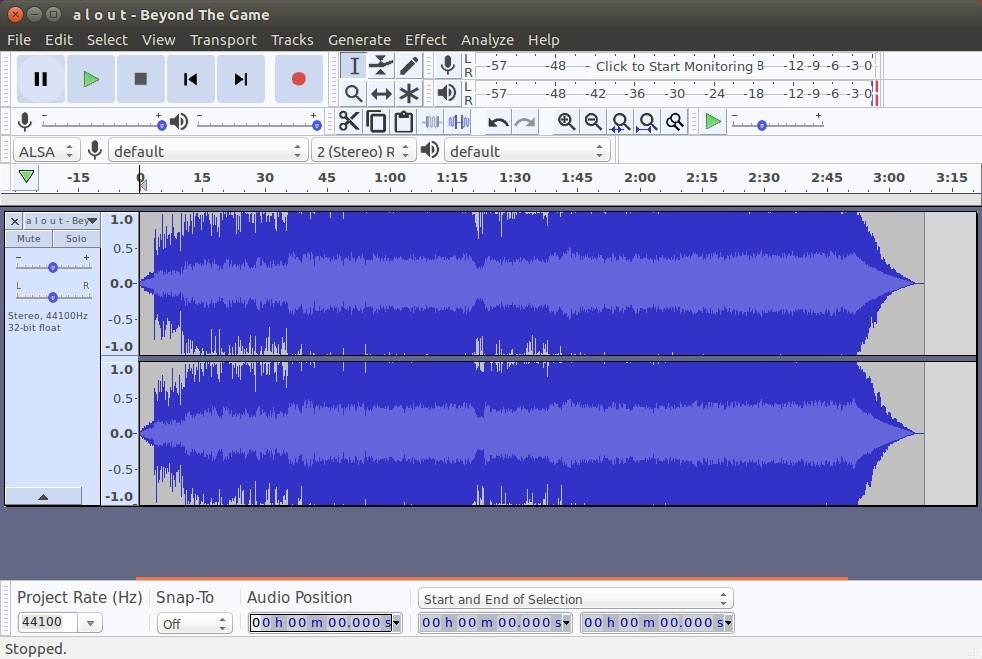 How to Install/upgrade Audacity in Ubuntu and it's