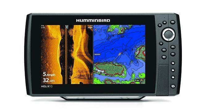 Humminbird Helix 10 CHIRP MEGA SI GPS G2  Angler Oase