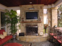 Outdoor Vent Free Gas Fireplace | Angler Remodeling and ...