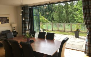 dining room self catering