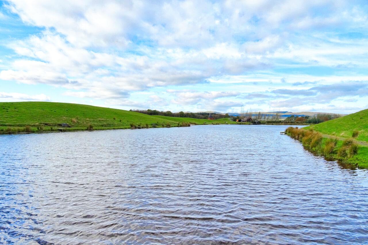 stillwater fly fishing venue in Scotland