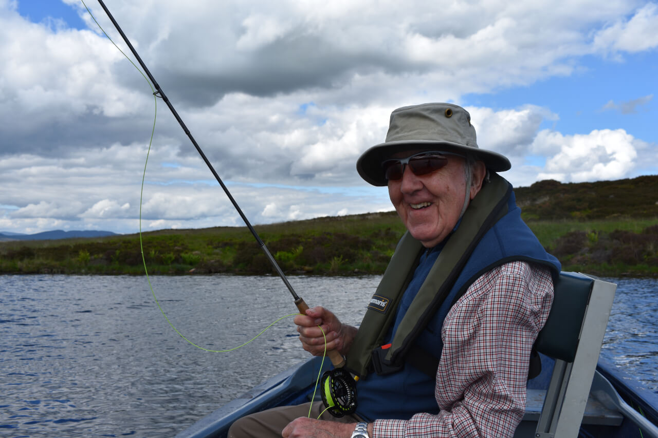 guided fishing day during fishing holiday in scotland