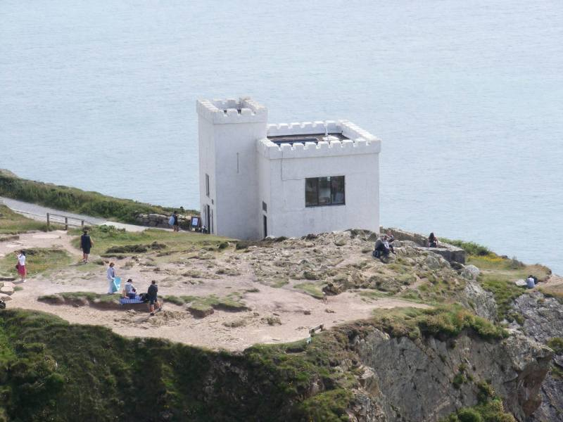 Elins tower and south stack rspb, you can watch the nesting birds with free use of binoculars
