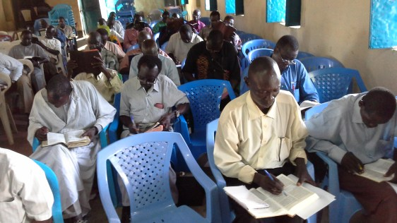 Pastor training, Juba
