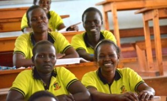 Midwife Students learning epidemology, Juba, South Sudan, Uganda, Mengo Hospital, Train health workers