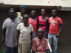 Manna microfinance Jane and her children AID Anglican International Development