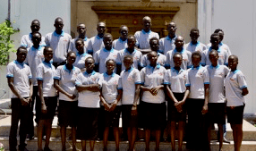 The First Cohort of Students at the Newly Opened Jonglei Health Sciences Institute (JHSI).
