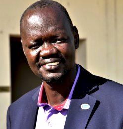 Samuel Marial, Principal at Bishop Gwynne College, Juba.