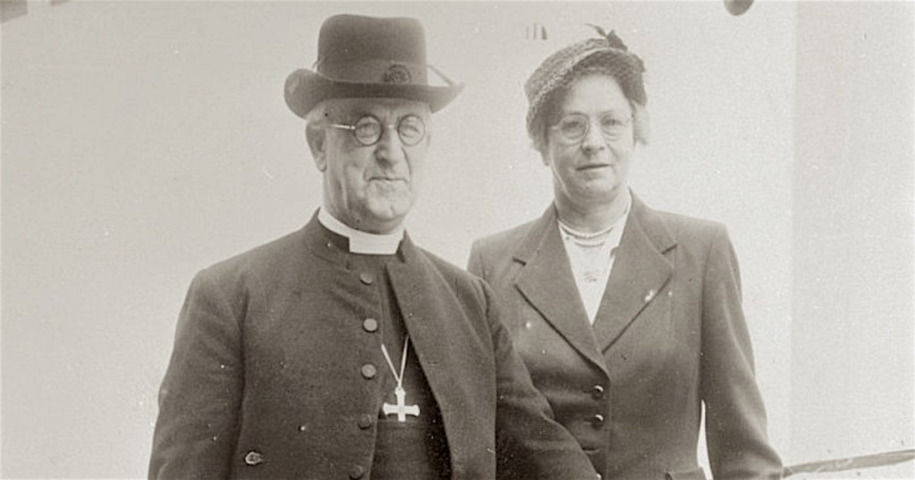 Abp and Mrs Geoffrey Fisher small