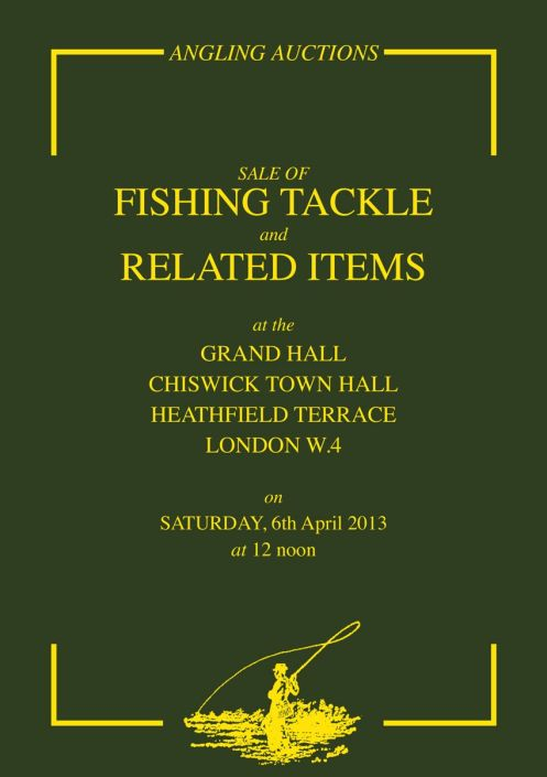 Angling auctions catalogue April 2013