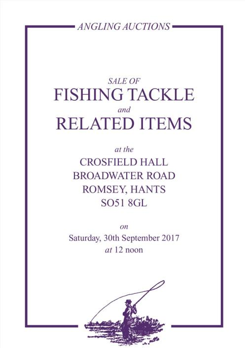Angling auctions catalogueSeptember 2018