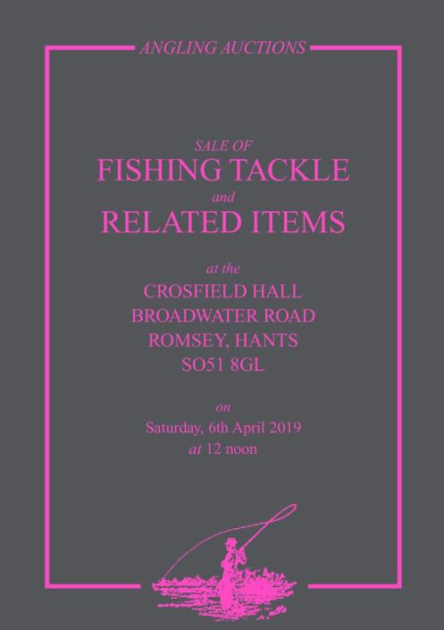 Angling auctions catalogue April 2019