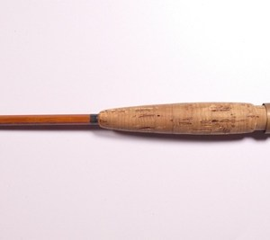 """A Farlow """"Lee Wulff Ultimate"""" one piece armour cane brook trout rod,"""