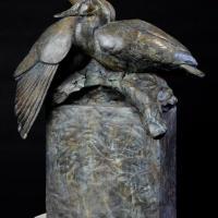 Darrell Davis... Making a splash with his sculptures!