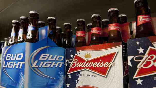 Even though it is one of the most popular beers, at least the most advertised, Annheuser-Busch is no stranger to GMO products. Not only does it not taste good, this beer contains GMO dextrose made from GMO corn. Next time for the big game day, try a Dogfish Head.