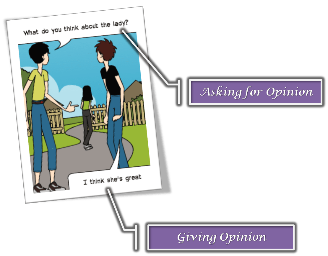 Giving Your Opinion Anglokids
