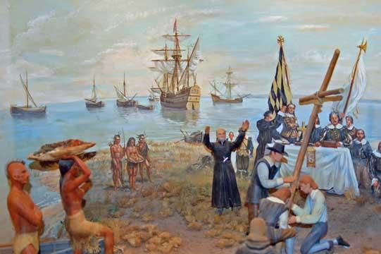 Maryland Day - landing 1634