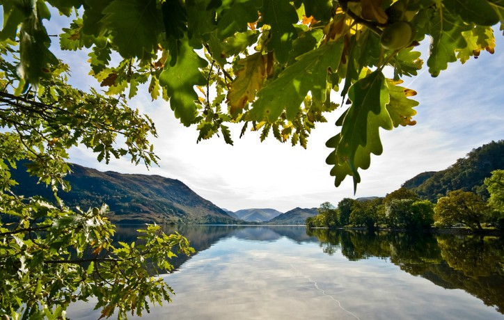 Ullswater in the Lake District where Wordsworth wrote his famous poem Daffodils
