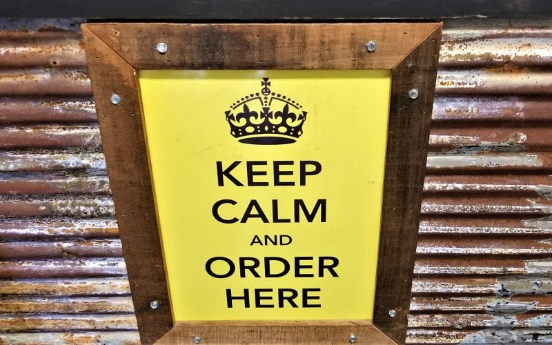 Keep calm and order from the Codfather