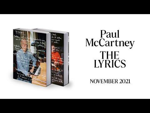 "Paul McCartney announces ""The Lyrics,"" his life in 154 song lyrics"
