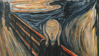The Scream - An art masterpiece which best describes what I'm feeling right now.