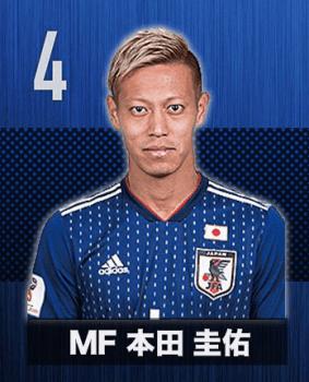 サッカー日本代表本田圭佑選手