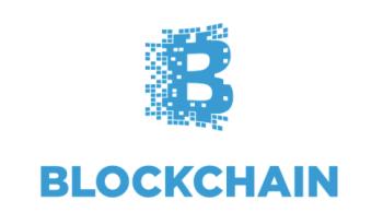 ブロックチェーンのロゴ
