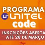 """Unitel oferece formação em """"Programação"""" Virtual"""