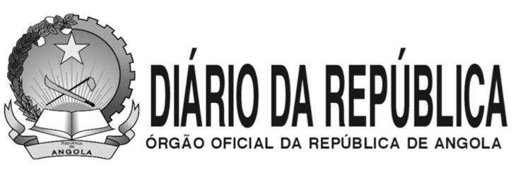 Diário da República I.ª Série n.º 34 de 14 de Março de 2019