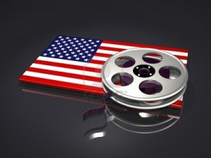 USA flag film