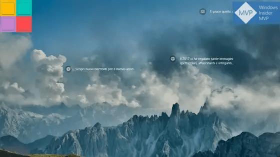 Contenuti In Evidenza Mostra Schermo Nero Come Sfondo In Windows 10
