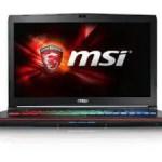 MSI GE72VR (Apache Pro)