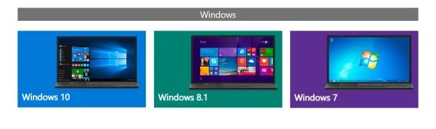 Versioni di Windows da poter scaricare