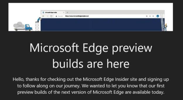 edgeishere - Aperto ufficialmente il programma Edge Insider