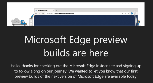 Edge are here