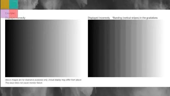 bug nella visualizzazione dei colori