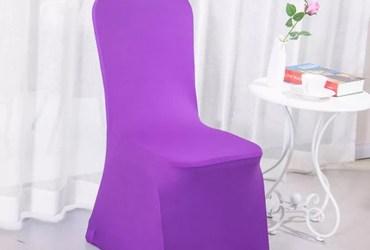 Capa Spandex Para Cadeiras de Eventos