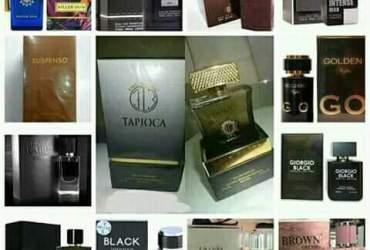 promoção de perfumes.