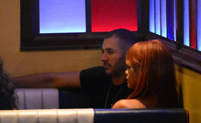 Benzema e Rihanna