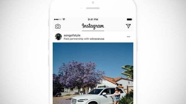 """Instagram vai """"dedurar""""  todos os conteúdos pagos dos sites, marcas e celebridades"""