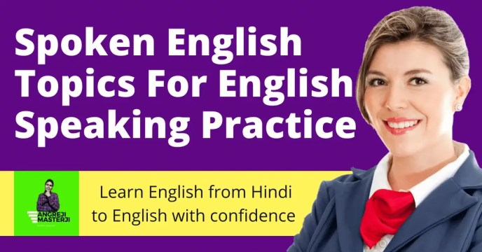 learn top 9 spoken english topics for beginners