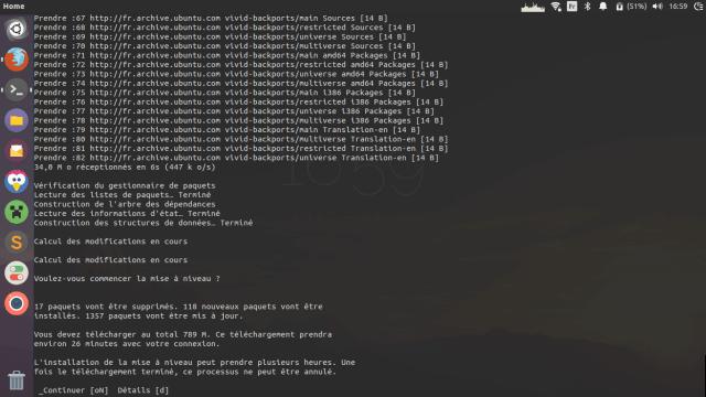 Mettez à jour Ubuntu 14.10 vers 15.04